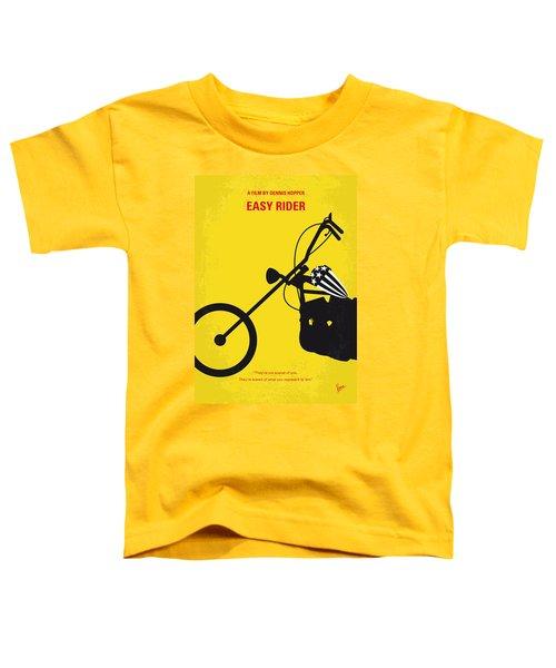 No333 My Easy Rider Minimal Movie Poster Toddler T-Shirt by Chungkong Art