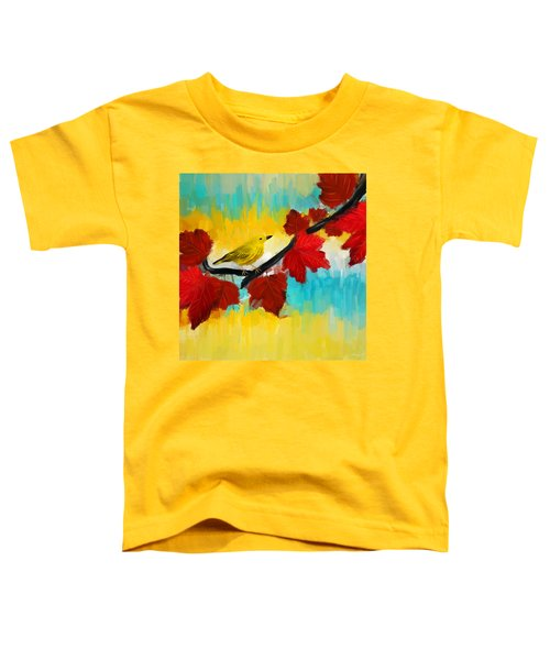 Vividness Toddler T-Shirt by Lourry Legarde