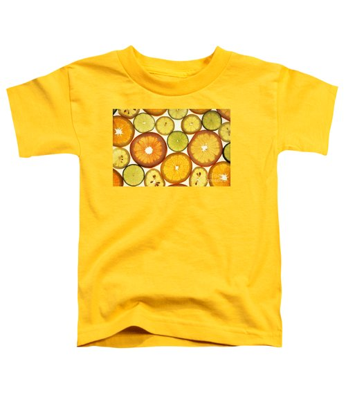 Citrus Slices Toddler T-Shirt by Photo Researchers