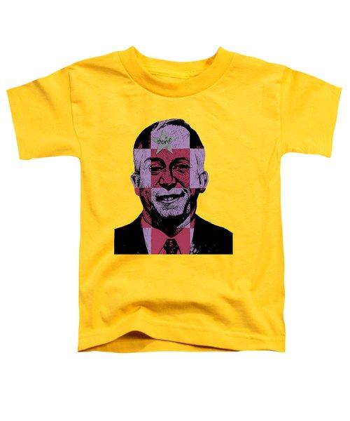 Smugshot Toddler T-Shirt by Steve Hunter
