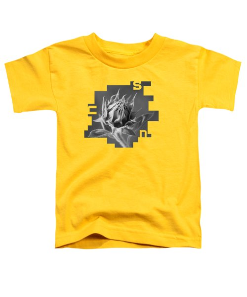 Sunflower Toddler T-Shirt by Konstantin Sevostyanov