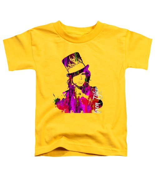 Steven Tyler Collection Toddler T-Shirt by Marvin Blaine