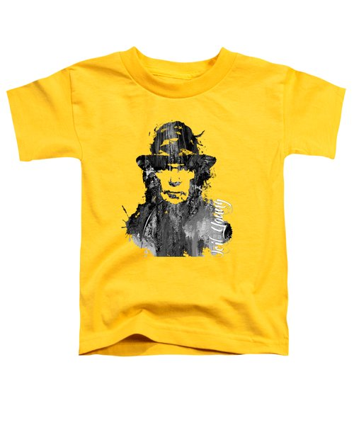 Neil Young Collection Toddler T-Shirt by Marvin Blaine