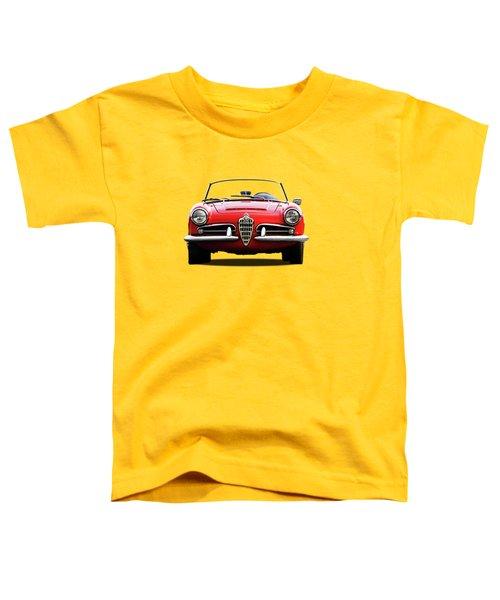 Alfa Romeo Spider Toddler T-Shirt by Mark Rogan