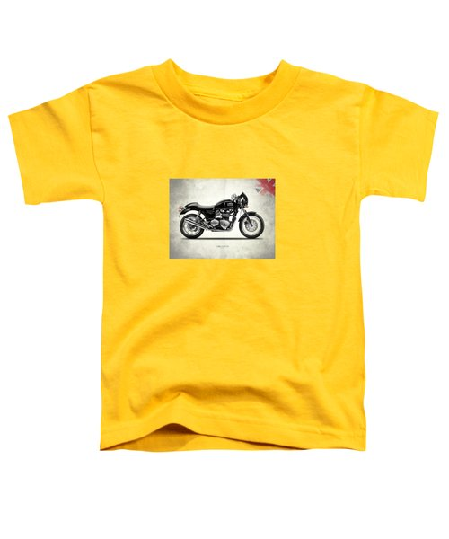 Triumph Thruxton Toddler T-Shirt by Mark Rogan