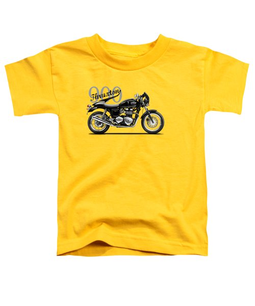 Triumph Thruxton Toddler T-Shirt by Mark Rogan