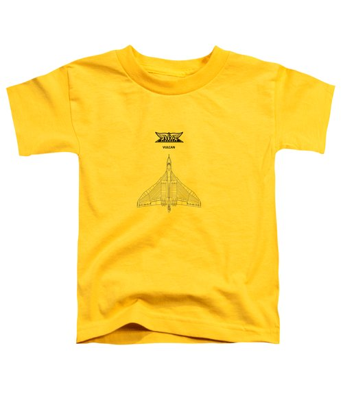 The Avro Vulcan Toddler T-Shirt by Mark Rogan
