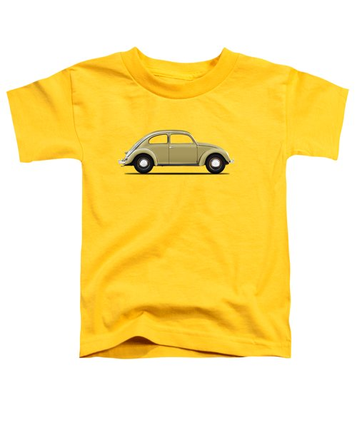 Vw Beetle 1946 Toddler T-Shirt by Mark Rogan