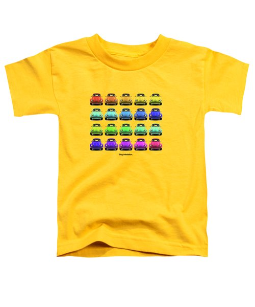 Bug Infestation. Toddler T-Shirt by Mark Rogan