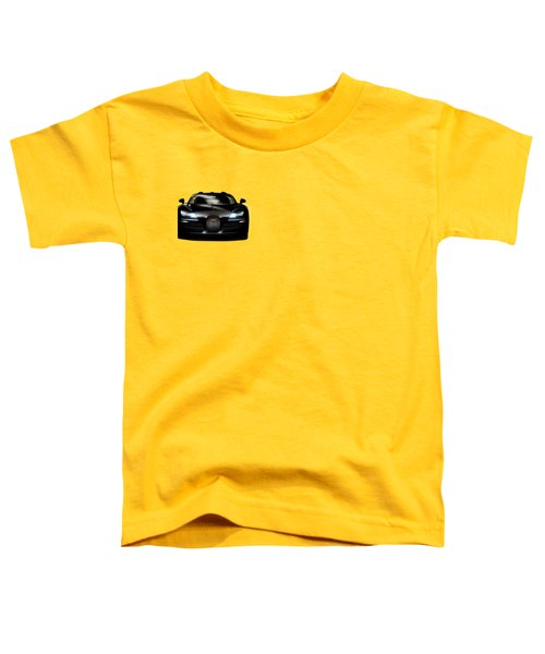 Bugatti Veyron Toddler T-Shirt by Mark Rogan