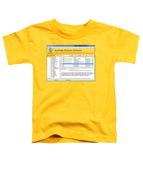 Edb To Ps T Software  Toddler T-Shirt by Tomcruise
