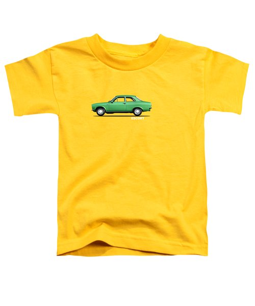 Escort Mark 1 1968 Toddler T-Shirt by Mark Rogan