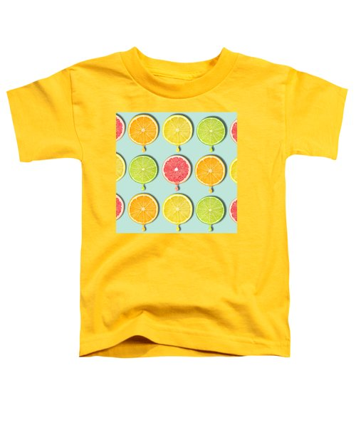 Fruity Toddler T-Shirt by Mark Ashkenazi