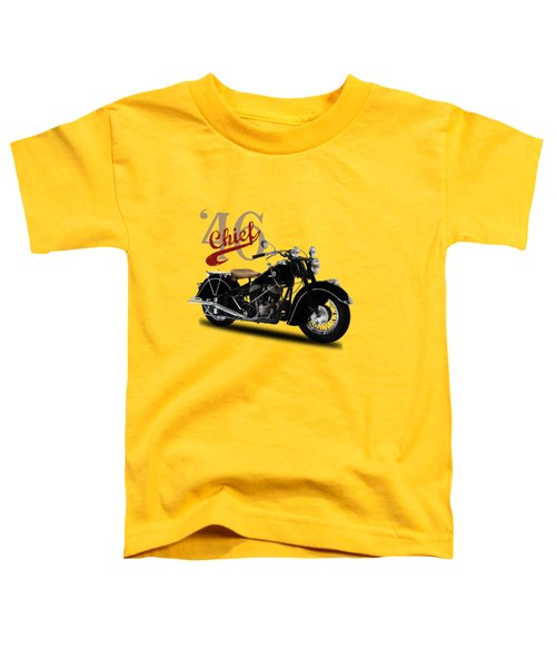 Indian Chief 1946 Toddler T-Shirt by Mark Rogan