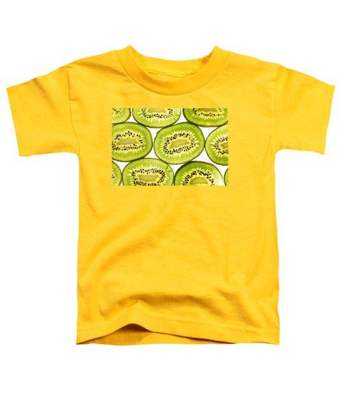 Kiwi Fruit II Toddler T-Shirt by Paul Ge