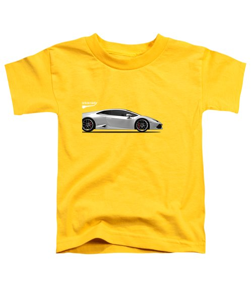 Lamborghini Huracan Toddler T-Shirt by Mark Rogan