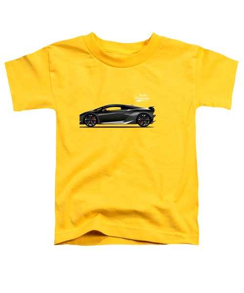 Lamborghini Sesto Elemento Toddler T-Shirt by Mark Rogan