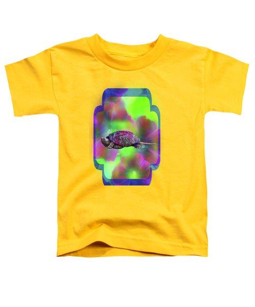 Ms Curlie Toddler T-Shirt by Linda Troski