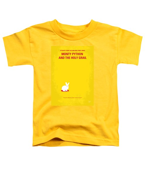 No036 My Monty Python And The Holy Grail Minimal Movie Poster Toddler T-Shirt by Chungkong Art