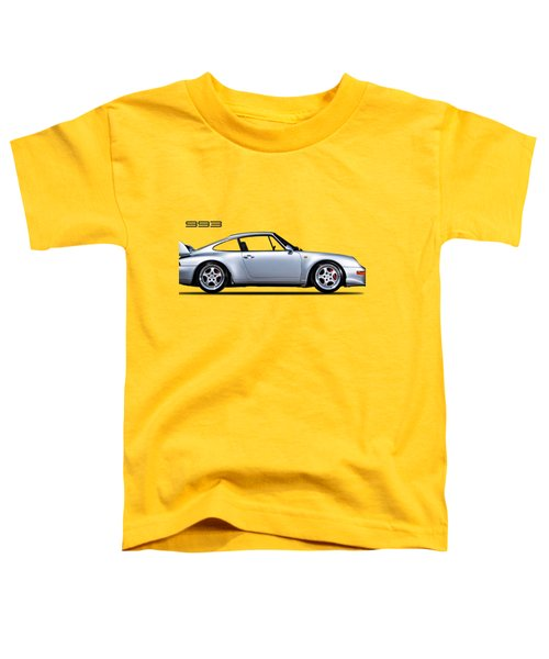 Porsche 993 Toddler T-Shirt by Mark Rogan