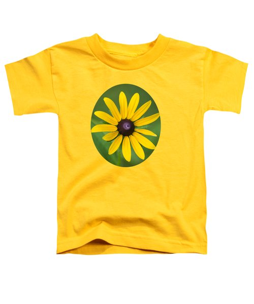 Rudbeckia Flower Toddler T-Shirt by Christina Rollo