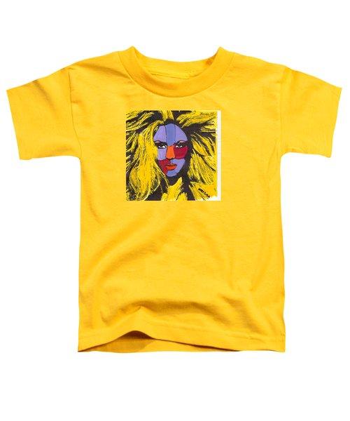 Shakira Toddler T-Shirt by Zheni Mavromati