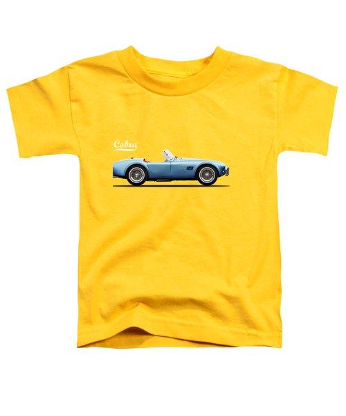 Shelby Cobra 289 1964 Toddler T-Shirt by Mark Rogan
