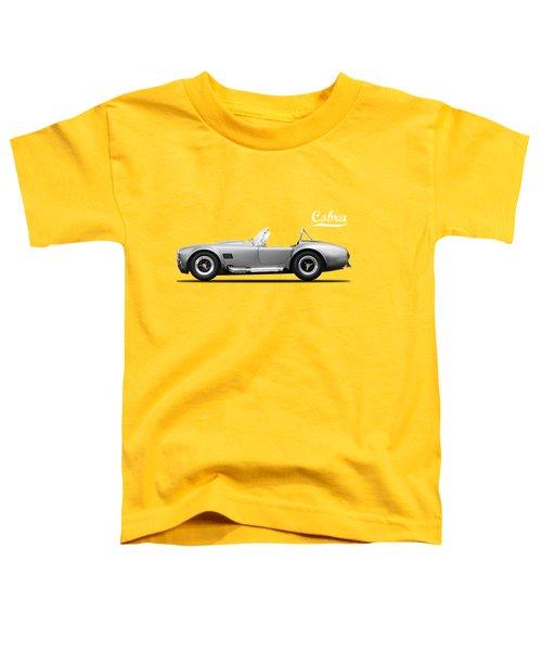 Shelby Cobra 427 Sc 1965 Toddler T-Shirt by Mark Rogan