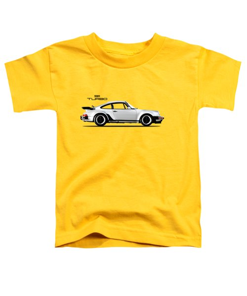 The 911 Turbo 1984 Toddler T-Shirt by Mark Rogan