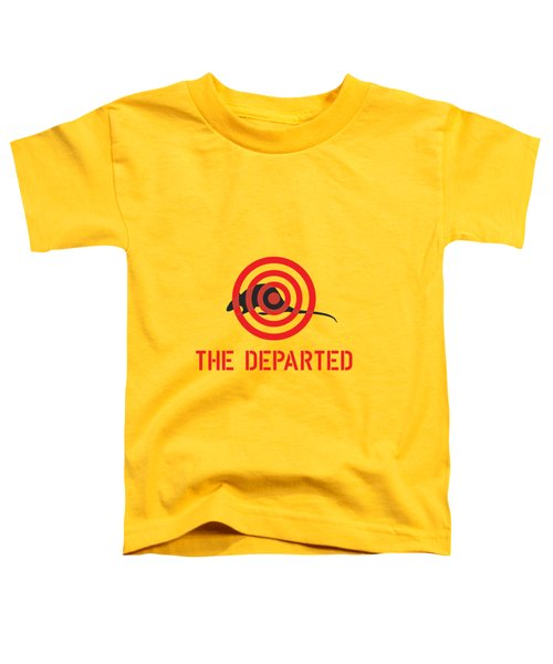 The Departed Toddler T-Shirt by Gimbri