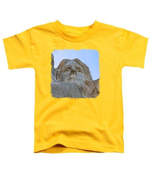 Thomas Jefferson 3 Toddler T-Shirt by John M Bailey