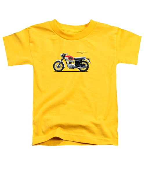 Triumph Bonneville 1966 Toddler T-Shirt by Mark Rogan