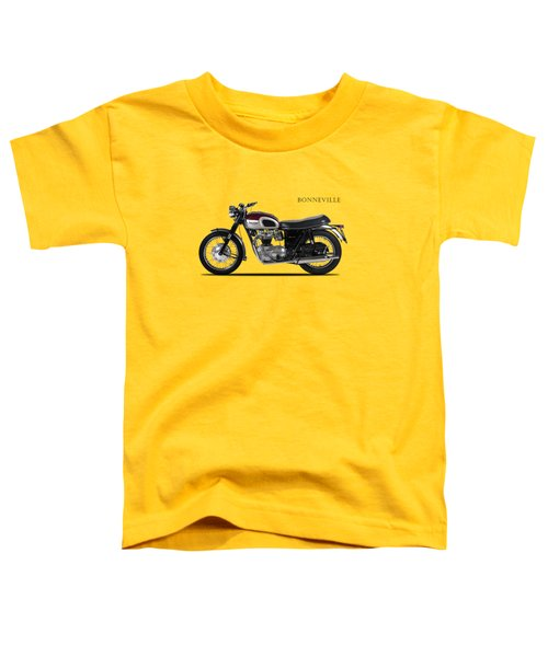 Triumph Bonneville 1968 Toddler T-Shirt by Mark Rogan