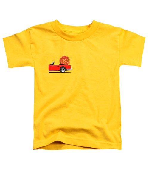 Triumph Tr4 Toddler T-Shirt by Mark Rogan