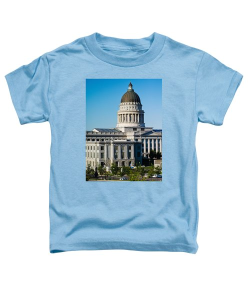 Utah State Capitol Building, Salt Lake Toddler T-Shirt by Panoramic Images