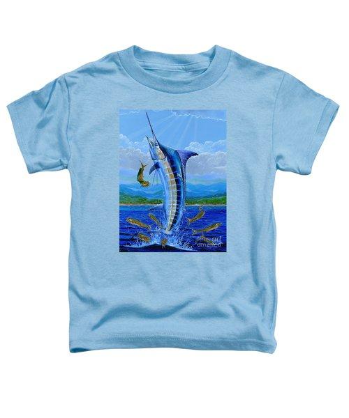 Caribbean Blue Off0041 Toddler T-Shirt by Carey Chen