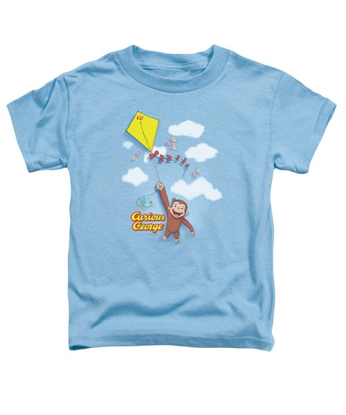 Curious George - Flight Toddler T-Shirt by Brand A