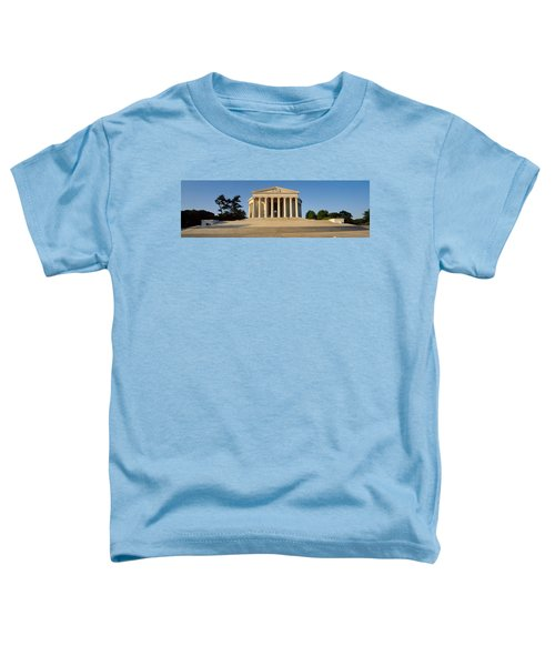 Facade Of A Memorial, Jefferson Toddler T-Shirt by Panoramic Images
