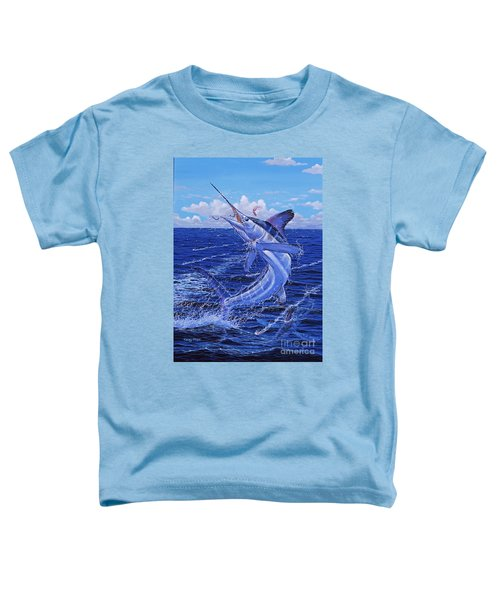 Flat Line Off0077 Toddler T-Shirt by Carey Chen