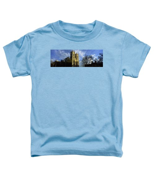 Low Angle View Of An Abbey, Westminster Toddler T-Shirt by Panoramic Images