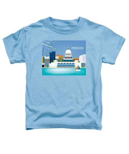 Madison Toddler T-Shirt by Karen Young