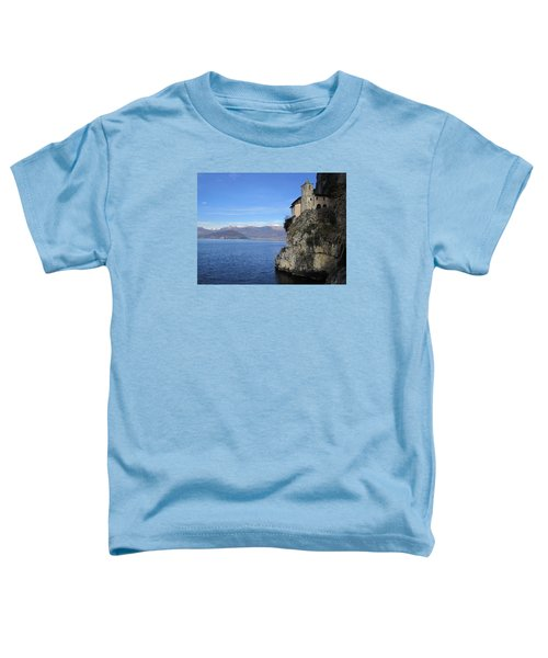 Toddler T-Shirt featuring the photograph Santa Caterina - Lago Maggiore by Travel Pics