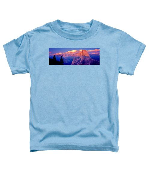 Sunlight Falling On A Mountain, Half Toddler T-Shirt by Panoramic Images