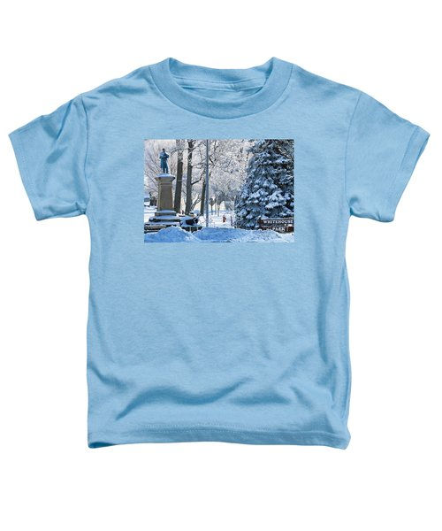Whitehouse Village Park  7360 Toddler T-Shirt by Jack Schultz