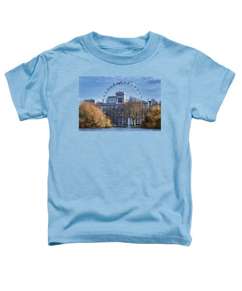 Eyeing The View Toddler T-Shirt by Joan Carroll