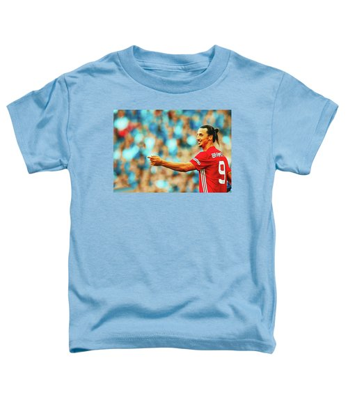 Manchester United's Zlatan Ibrahimovic Celebrates Toddler T-Shirt by Don Kuing