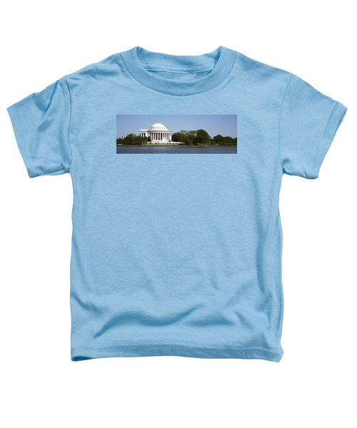 Jefferson Memorial, Washington Dc Toddler T-Shirt by Panoramic Images