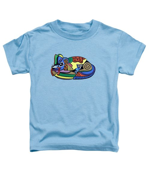 A Dog Named Picasso T-shirt Toddler T-Shirt by Anthony Falbo