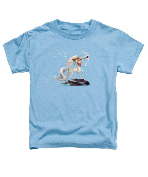 Mystical Sagittarius Toddler T-Shirt by Glenn Holbrook