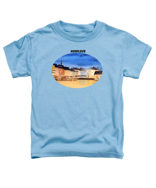 Honfleur  Evening Lights Toddler T-Shirt by Bill Holkham